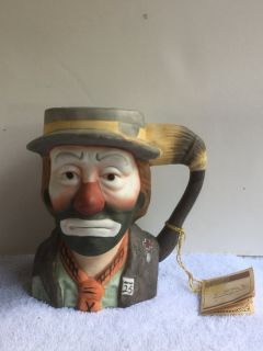 Emmett Kelly Collection mug by Flambro