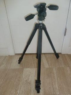 Manfrotto tripod and 3-way pan/tilt head