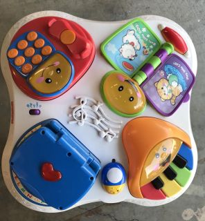 Fisher-Price musical table activity center