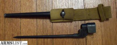 For Sale: Enfield No. 4, MK II Spike Bayonet-Singer