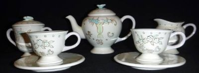Mini Porcelain Tea Set ~ Child's Coffee / Tea Party