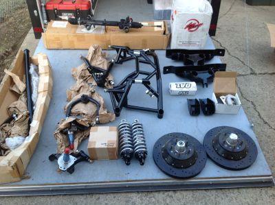 New Magnum Force Mopar B body tubular front end kit