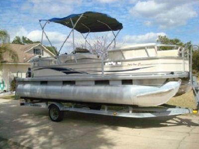 """?;*"""" 2004 Sun Tracker Party Barge 21'';~;F.8**""""*"""