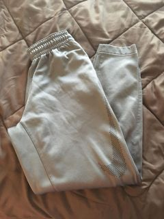 Nike Athletic Pants Grey with black accent size medium