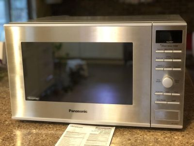 Panasonic Microwave with Inverter Technology, Stainless