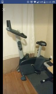 Nautilus exercise bike