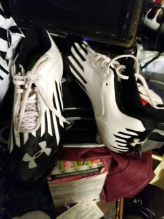 Under armour cleats size 11