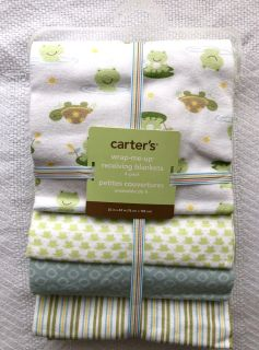 New Carter s Receiving Blankets 4 pack