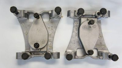 Sell USED HARLEY DAVIDSON ROCKER ARM SUPPORTS 17593-99 TWIN CAM FXST FLHX FXD motorcycle in Gambrills, Maryland, US, for US $25.00