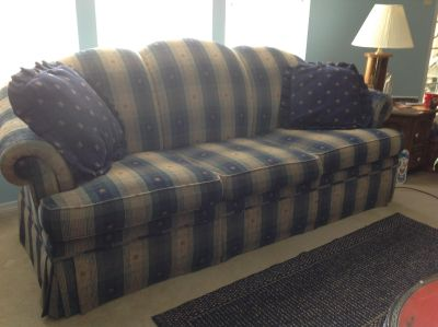 Matching chair and couch