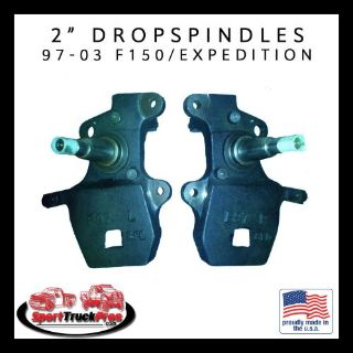 "Buy 97 - 03 FORD F-150, 97-02 EXPEDITION, NAVIGATOR (2WD) 2"" DROP SPINDLES motorcycle in San Luis Obispo, California, United States, for US $210.00"