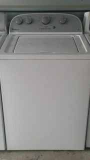 Whirlpool energy efficent super capacity washer