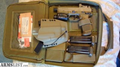 For Sale: FN FNX 45 tactical FDE