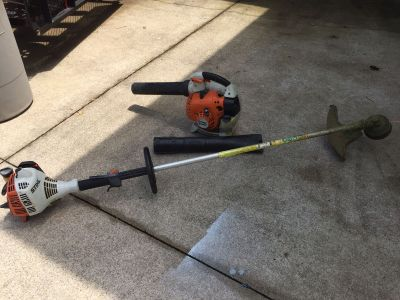 Stihl Weed eater and blower. Both work great!