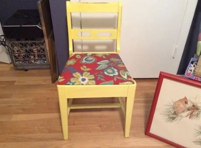 Chair, small vintage, suitable for small desk or vanity