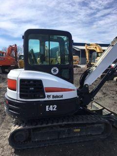 2016 Bobcat E42 T4 Long Arm