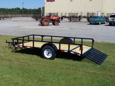 2018 utility trailers 6 x 12 dove tail