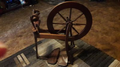Antique Ashford traditional spinning wheel