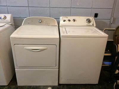 Whirlpool HE Washer and Dryer Set