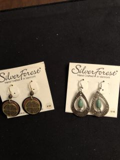 NWT earrings. Surgical steel wires. Rep samples Ppu