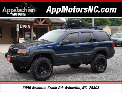 2000 Jeep Grand Cherokee Laredo (Blue)
