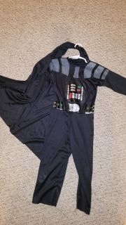 Size small Darth Vader costume with cape only