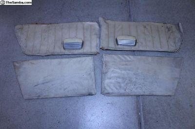 66-67 Type 3 Rear Seat Area Interior Panels