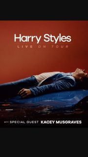 2 Tickets to Harry Styles Concert