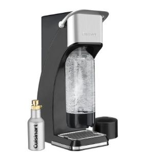Cuisinart Black Sparkling Beverage Maker