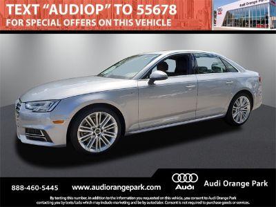 2018 Audi A4 2.0T (silver)
