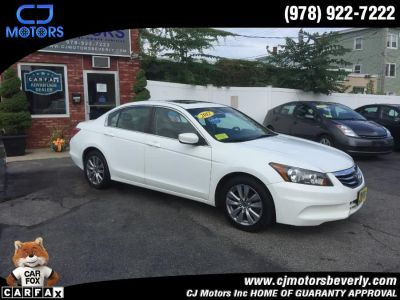 2012 Honda Accord EX (Taffeta White)