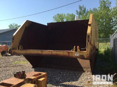 Cat 657B Coal Bowl w/ Rear Powertrain