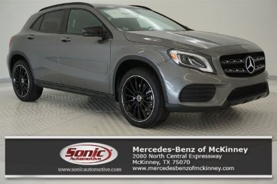 2018 Mercedes-Benz GLA (MOUNTAIN GREY METALLIC)