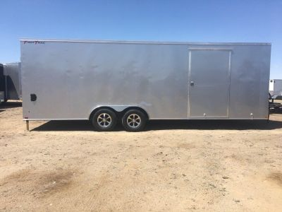 8.5 x 24ft Enclosed Car Hauler  Wells Cargo Enclosed Trailer FT85244