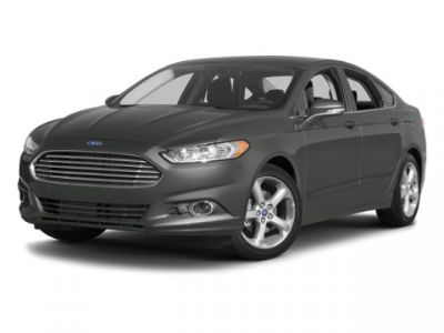 2014 Ford Fusion S (OXFORD WHITE)