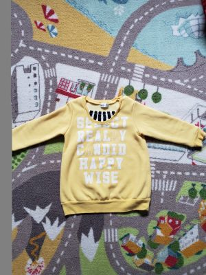 Soft yellow sweater 2yrs old