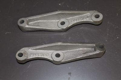 Find 1965 1966 1967 GM Corvette J-56 Big Brake Front Reinforcing Caliper Brackets motorcycle in Cincinnati, Ohio, United States, for US $1,500.00