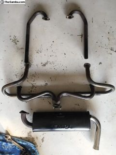 Type 3 Squareback Empi Aftermarket Exhaust