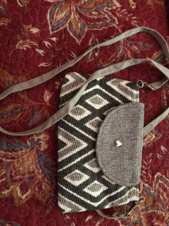 Wristlet with strap