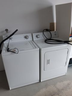 Washer and dryer by Inglis