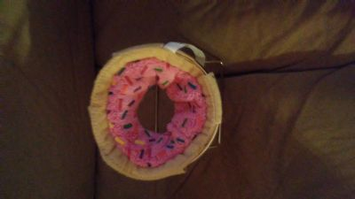Donut cell phone holder from Claire's