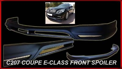 Find C207 E-CLASS COUPE E63 2010-2013 FRONT BUMPER CARBON FIBER LIP SPOILER MERCEDES motorcycle in North Hollywood, California, US, for US $355.00