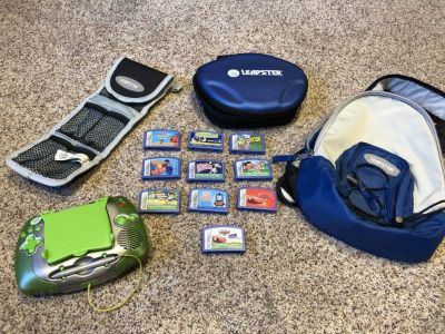 Leap frog Leapster Gaming system set