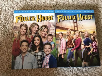 Fuller house season one and two. Ppu off of witte. $10