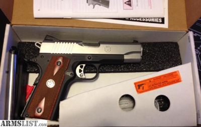 For Sale/Trade: New in box Ruger lightweight Commander version of the SR 1911 .45acp.