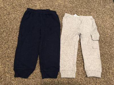 Navy & Gray cotton pants