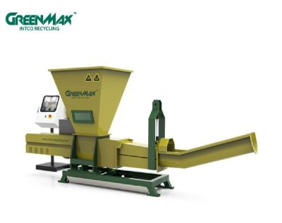 GREENMAX P-C200 plastic PET bottles recycling machinery