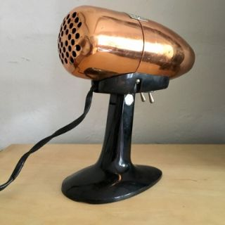 Vintage Copper-finish Hair Dryer, Airjet by Oster