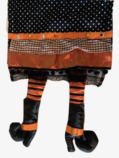 Halloween Wicked Witch Legs Table Runner