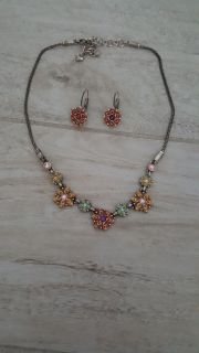 Necklace and earring set BRIGHTON
